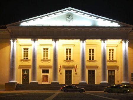 Vilniaus Rotušė buvo miesto teatras