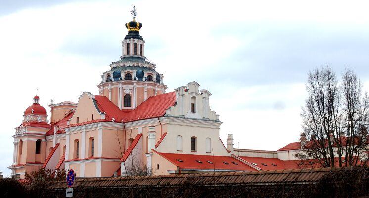 St. Casimir church krown Vilnius tours baroque
