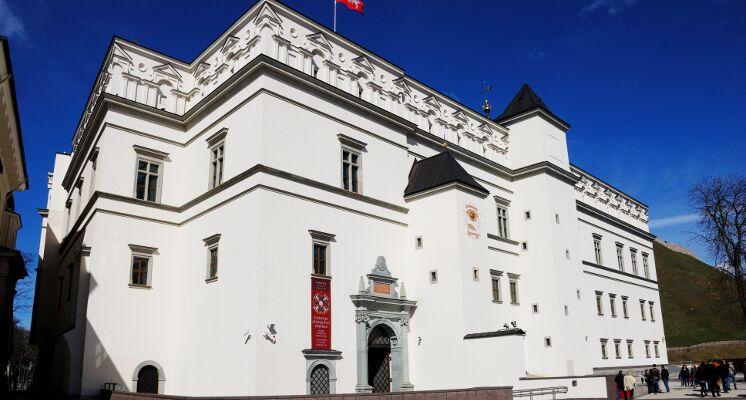 Vilnius royal palace grand duke tour