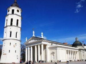 Vilniaus katedros aikštė ir varpinė