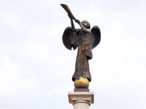 Uzupio angelo statula