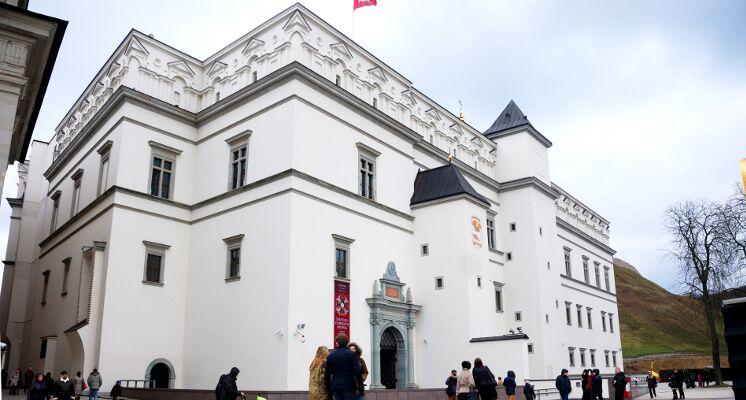 Valdovų rūmų lankymas