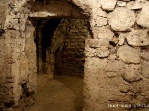 Vilniaus Rotušės požemiuose kadaise veikė kalėjimas