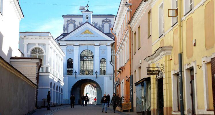 Aušros vartai Vilnius senamiestis