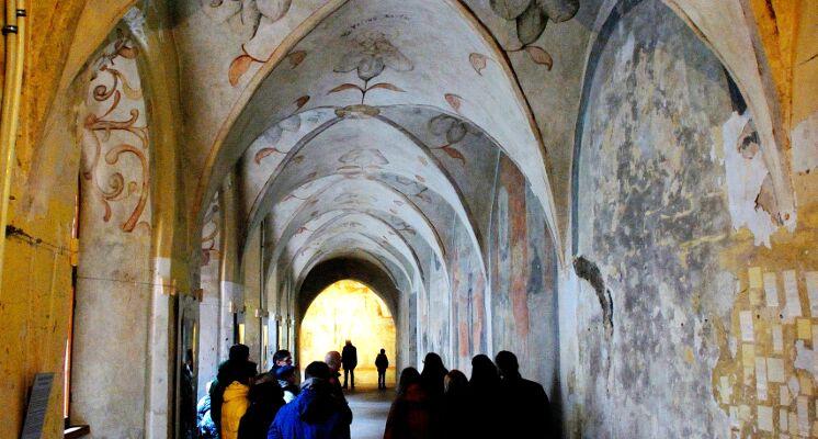 Bernardinu baznycios freskos