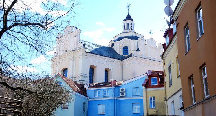 Domininkonų bažnyčia barokas