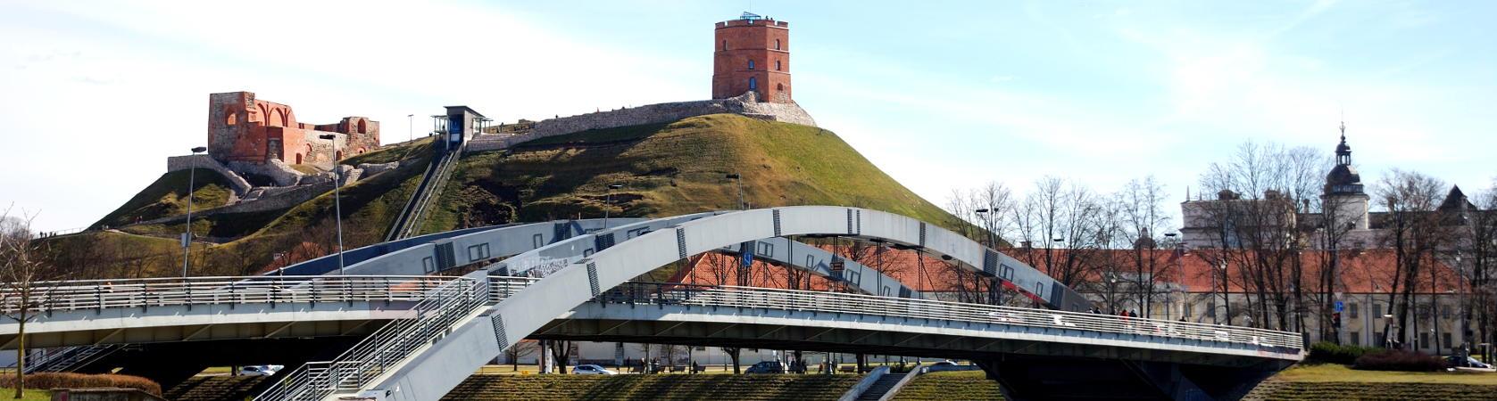 Gedimino pilis Mindaugo tiltas