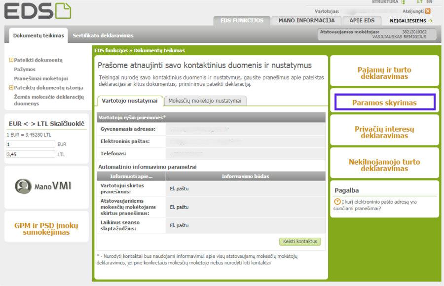 2 procentų parama 1 Ekskursijos Vilniuje