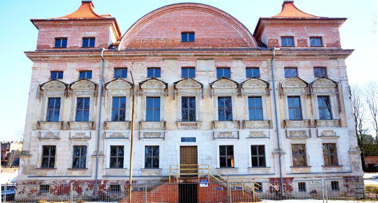 Sapiegu rumai fasadas