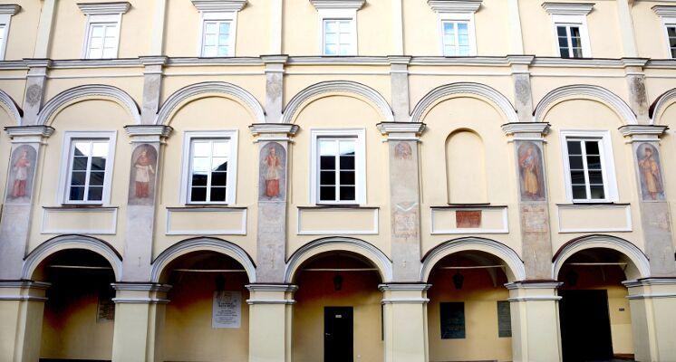 Vilniaus universitetas didysis kiemas
