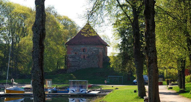 Trakai pusiasalio pilies bokstas peninsula castle tower