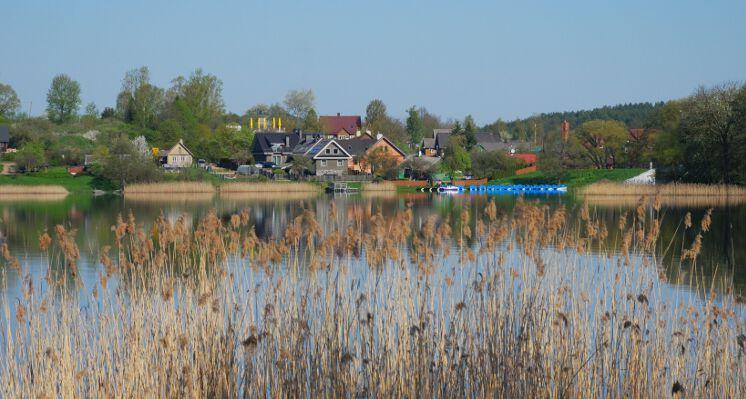 Trakai ezeras lakes