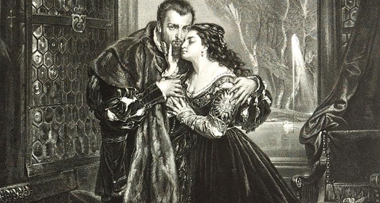 Jan Mateiko. Žygimantas Augustas ir Barbora Radvilų rūmuose Vilniuje