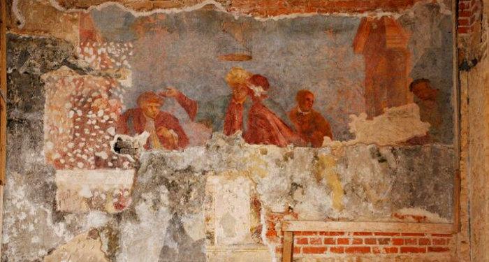 Sapiegu rumu freska