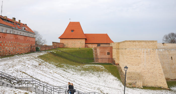 Vilniaus Bastėja žiemą