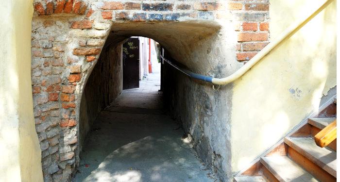 Meilės tunelis Vilniuje