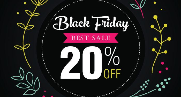 Tik juodąjį penktadienį – net 20% nuolaida dovanų kuponams!