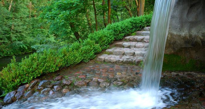 Krioklys Belmonte, prie prancūziškojo malūno