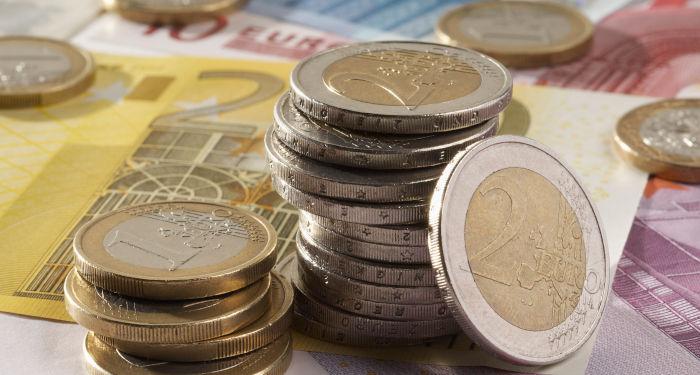 Euro banknotai ir monetos