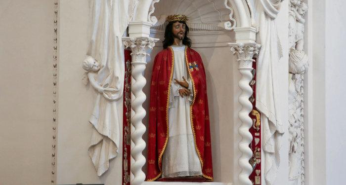 Antakalnio Jezaus skulptura